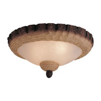 Monte Carlo Fan Company Bowl 3 Light Light Kit in Tan Scavo MC103-L