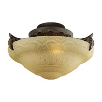 Monte Carlo Fan Company Royal Danube 3 Light Light Kit in Roman Bronze MC164RB-L