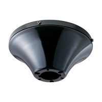 Monte Carlo Fan Company Semi-Flush Mount Wet Heavy Duty Canopy Canopy in Gloss Black MC192BG