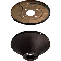Monte Carlo Fan Company Semi-Flush Mount Wet Heavy Duty Canopy Canopy in Tuscan Bronze MC192TB