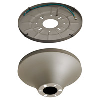 Semi-Flush Mount Wet Heavy Duty Canopy Titanium Canopy