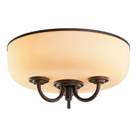 Monte Carlo Fan Company Arm Bowl 3 Light Light Kit in Roman Bronze MC209-L photo thumbnail