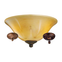 Monte Carlo Fan Company Bowl 3 Light Light Kit in Herringbone Alabaster MC218-L