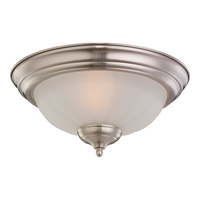 Monte Carlo Fan Company Melon Bowl 2 Light Light Kit in Brushed Steel MC59BS