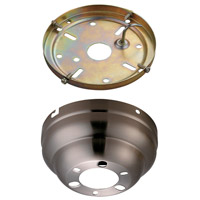 Monte Carlo Fan Company Flush Mount Canopy Kit Fan Accessory in English Pewter MC90EP photo thumbnail