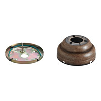 Monte Carlo Fan Company Flush Mount Canopy Kit Fan Accessory in Mediterranean Bronze MC90MB photo thumbnail