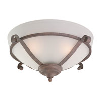 Monte Carlo Fan Company Scroll Bowl 3 Light Light Kit in Old Chicago MC92OC-L photo thumbnail