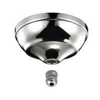 Monte Carlo Fan Company Remote Control Type Bowl Cap Kit Fan Accessory in Polished Nickel MC97PN photo thumbnail
