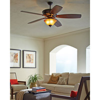 Monte Carlo Fans 5SIRB St Ives 60 inch Roman Bronze with Blades Sold Separately Ceiling Fan, Blades Separate alternative photo thumbnail