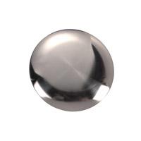 Monte Carlo Fans MCM360BS Minimalist Brushed Steel Blanking Plate