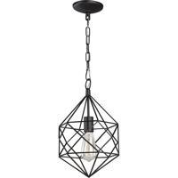 Matteo Lighting C59601BZ Diamond 1 Light 10 inch Bronze Pendant Ceiling Light