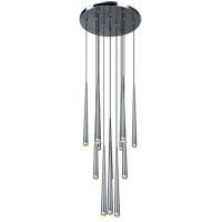 Matteo Lighting C62712CH Renaie LED 24 inch Chrome Pendant Ceiling Light