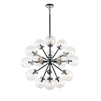 Matteo Lighting C62818CHCL Soleil 18 Light 32 inch Chrome Chandelier Ceiling Light