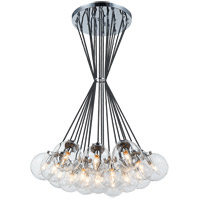 Matteo Lighting C63019CHCL The Bougie 19 Light 30 inch Chrome Chandelier Ceiling Light