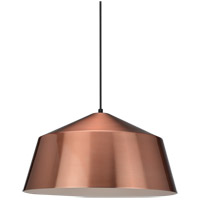 Matteo Lighting C64001CP Encase 1 Light 22 inch Copper Pendant Ceiling Light