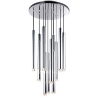 Matteo Lighting C78312CH Reign LED 24 inch Chrome Pendant Ceiling Light