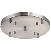 Matteo Lighting CP0105BN Leo Brushed Nickel Multi Ceiling Canopy