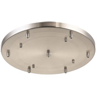 Matteo Lighting CP0107BN Leo Brushed Nickel Multi Ceiling Canopy