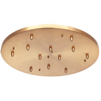 Matteo Lighting CP0112AG Leo Aged Gold Brass Multi Ceiling Canopy