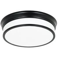Matteo Lighting M15402BK Navo LED 14 inch Black Ceiling Mount Ceiling Light