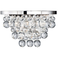 Matteo Lighting W00202CH Crystal Fruit Vacio 2 Light 13 inch Chrome Wall Sconce Wall Light