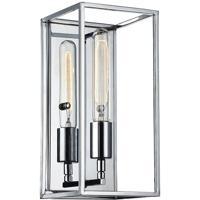Matteo Lighting W58001CH Glowstick 1 Light 6 inch Chrome Wall Sconce Wall Light