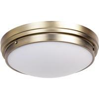 Matteo Lighting X46302BG Fresh Colonial 2 Light 14 inch Brushed Gold Ceiling Mount Ceiling Light