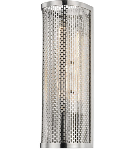 Mitzi By Hudson Valley Lighting H151101 Pn Britt 1 Light 5 Inch Polished Nickel Ada Wall Sconce Wall Light