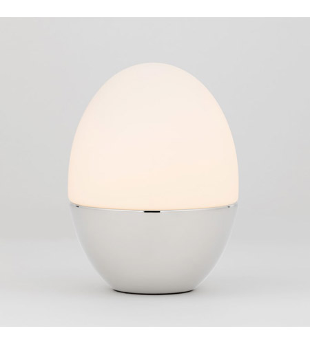 Polished Nickel Steel Orion Table Lamps