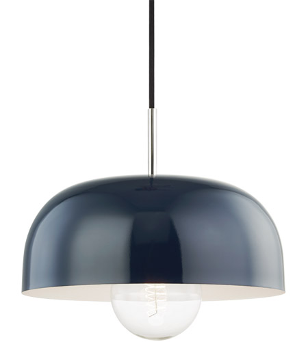 Polished Nickel Steel Avery Pendants