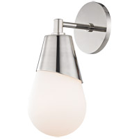 Cora 1 Light 5 inch Polished Nickel Wall Sconce Wall Light