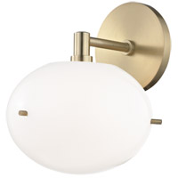 Mitzi H102101-AGB Winnie LED 8 inch Aged Brass Wall Sconce Wall Light