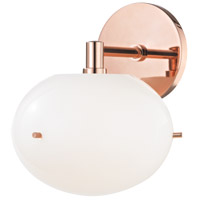 Mitzi H102101-POC Winnie LED 8 inch Polished Copper Wall Sconce Wall Light