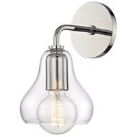 Mitzi H104101S-PN Sadie 1 Light 6 inch Polished Nickel Wall Sconce Wall Light