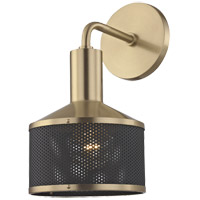 Yoko 1 Light 6 inch Aged Brass Wall Sconce Wall Light