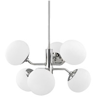 Estee 6 Light 28 inch Polished Nickel Chandelier Ceiling Light