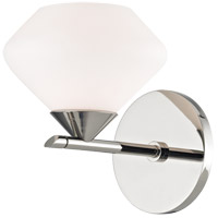 Mitzi H136301-PN Valerie 1 Light 6 inch Polished Nickel Bath Vanity Wall Light