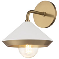 Marnie 1 Light 8 inch Aged Brass Wall Sconce Wall Light
