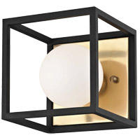 Aira LED 5 inch Aged Brass Bath And Vanity Wall Light