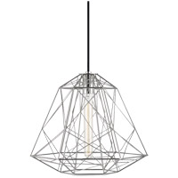 Ani 1 Light 16 inch Polished Nickel Pendant Ceiling Light