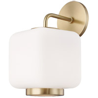 Mitzi H190101-AGB Jenny 1 Light 7 inch Aged Brass Wall Sconce Wall Light