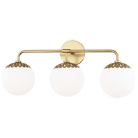 Mitzi Glass Paige Bathroom Vanity Lights