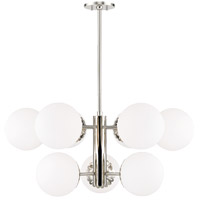 Paige 9 Light 33 inch Polished Nickel Chandelier Ceiling Light