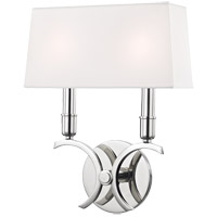 Mitzi H212102S-PN Gwen 2 Light 10 inch Polished Nickel ADA Wall Sconce Wall Light