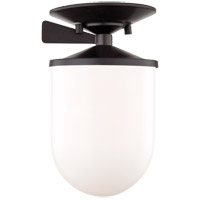 Mitzi H214601S-OB Audrey 1 Light 6 inch Old Bronze Semi Flush Ceiling Light