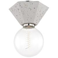Mitzi H243501-TER Lynn 1 Light 7 inch Terrazzo Flush Mount Ceiling Light
