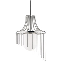 Mitzi H266701L-PN Kylie 1 Light 16 inch Polished Nickel Pendant Ceiling Light