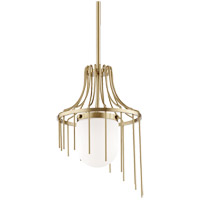 Mitzi H266701S-AGB Kylie 1 Light 12 inch Aged Brass Pendant Ceiling Light