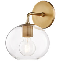 Mitzi H270101-AGB Margot 1 Light 8 inch Aged Brass Wall Sconce Wall Light