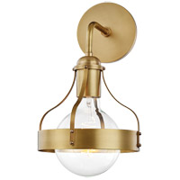 Mitzi H271101-AGB Violet 1 Light 8 inch Aged Brass Wall Sconce Wall Light